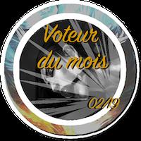Voteur du mois & RPiste du mois BadgeVM1902