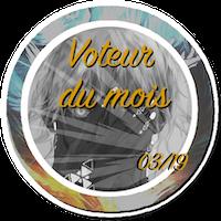 Voteur du mois & RPiste du mois BadgeVM1903