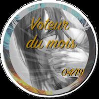 Voteur du mois & RPiste du mois BadgeVM1904